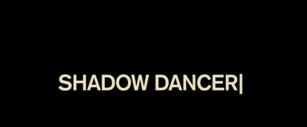 Shadow Dancer title screen