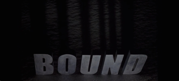 Bound title screen