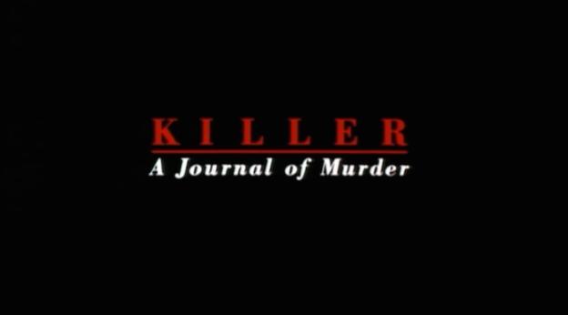 Killer: A Journal Of Murder title screen