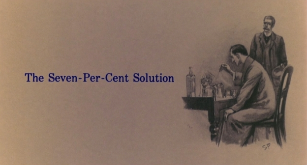 The Seven-Per-Cent Solution title screen
