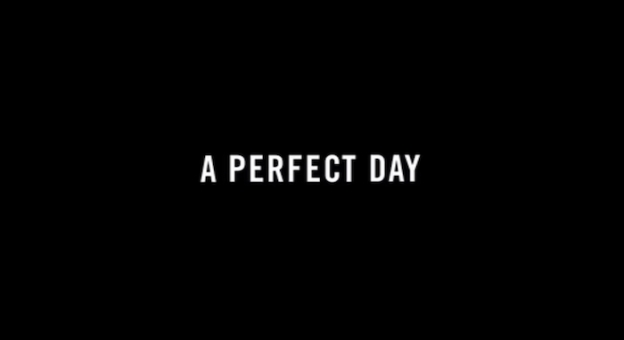 A Perfect Day title screen