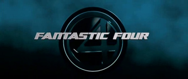 Fantastic Four (2005) title screen