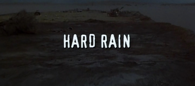 Hard Rain title screen