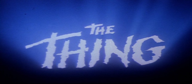 The Thing title screen