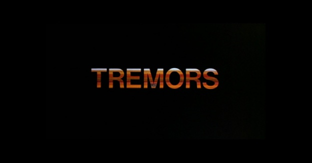 Tremors title screen