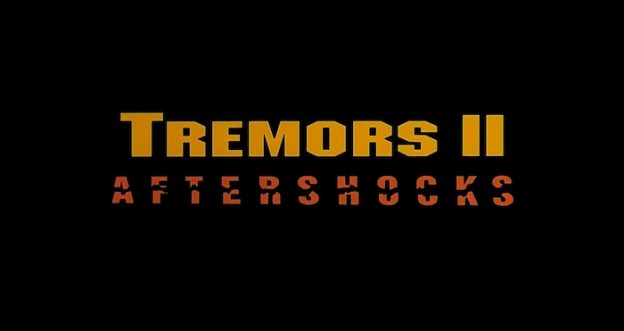 Tremors 2: Aftershock title screen