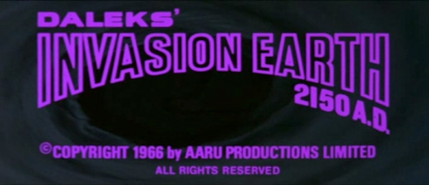 Daleks - Invasion Earth: 2150 A.D. title screen