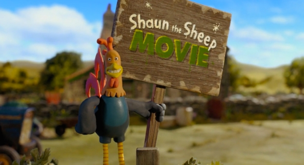 Shaun The Sheep Movie title screen