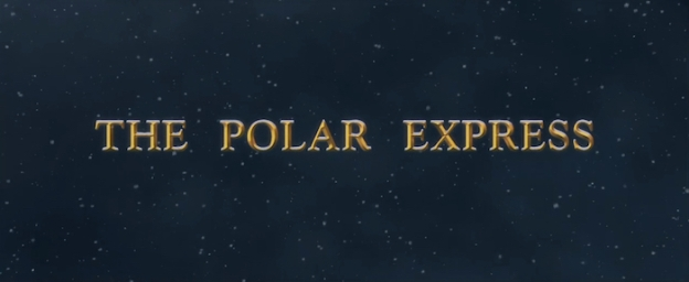 The Polar Express title screen