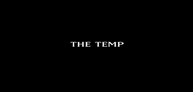 The Temp title screen