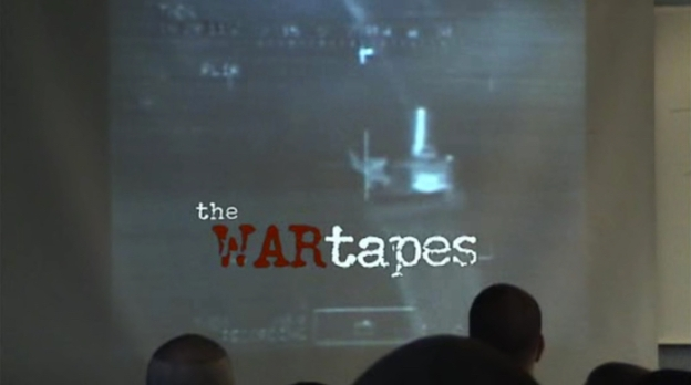 The War Tapes title screen