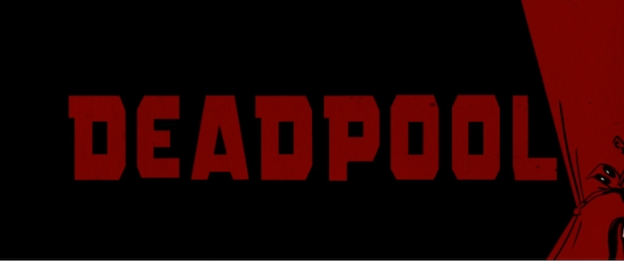Deadpool title screen