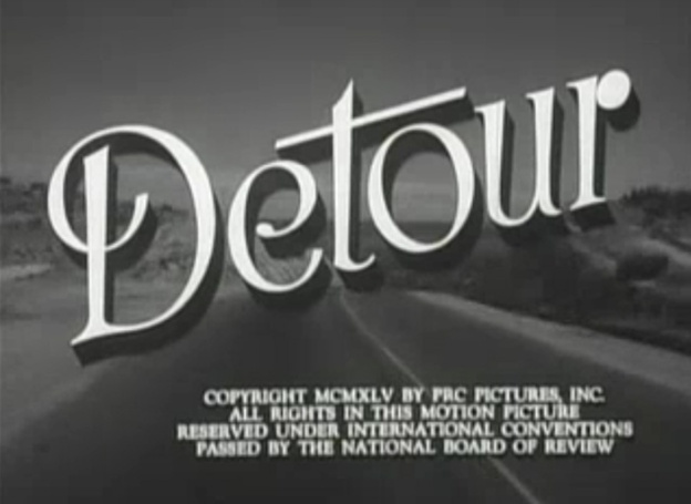 Detour title screen