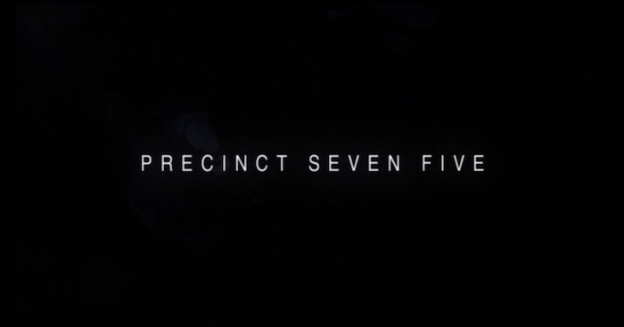 Precinct Seven Five title screen