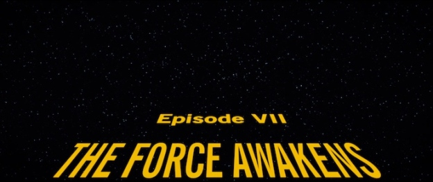 Star Wars: Episode VII – The Force Awakens title screen