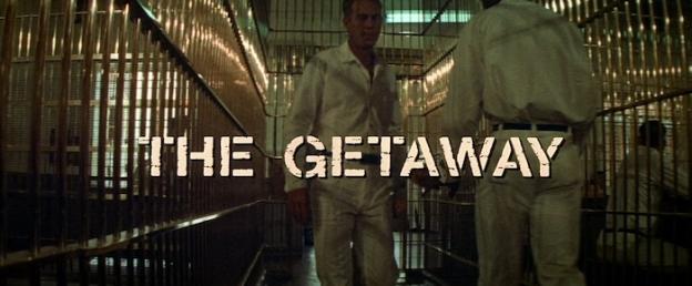 The Getaway title screen