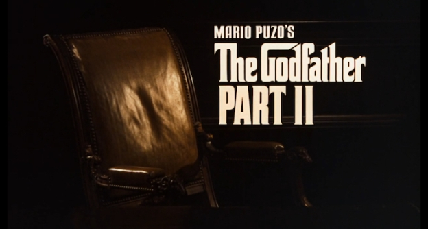 The Godfather Part II title screen
