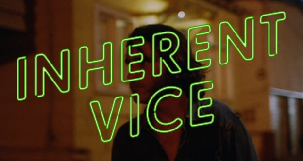 Inherent Vice title screen
