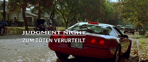 Judgment Night title screen