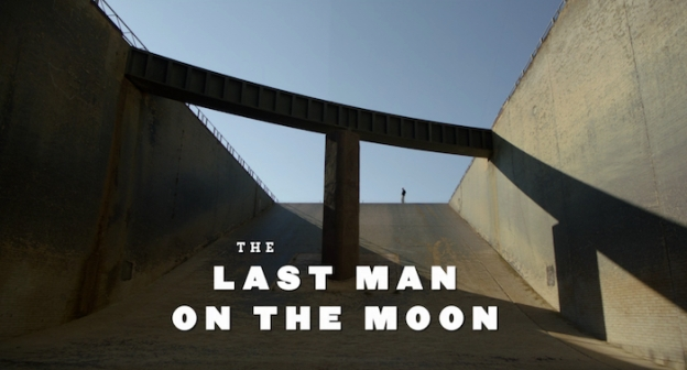 The Last Man On The Moon title screen