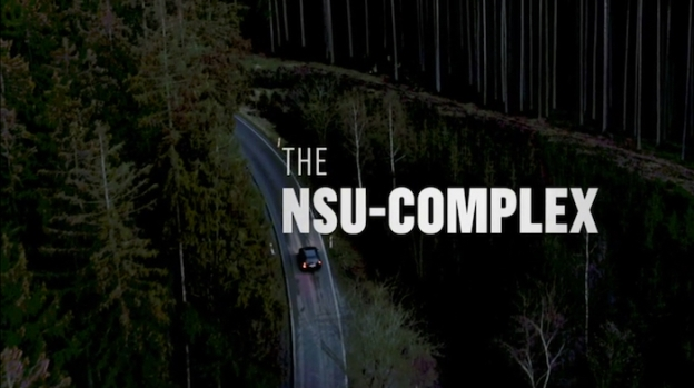 The NSU-Complex title screen