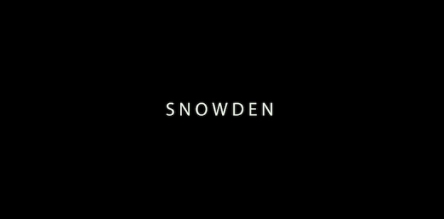 Snowden title screen