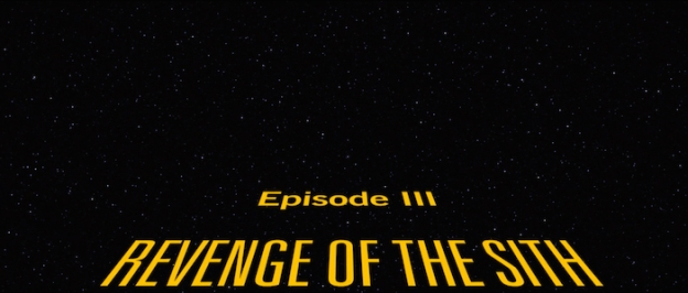 Star Wars: Episode 3 - Revenge Of The Sith title screen