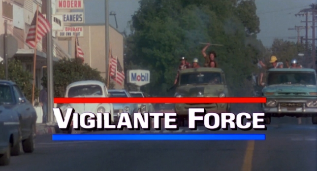 Vigilante Force title screen