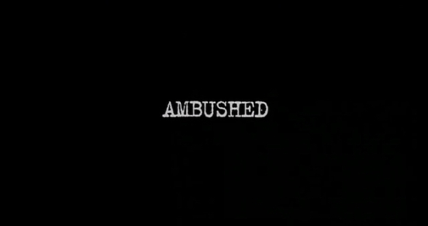 Ambushed 1998 title screen