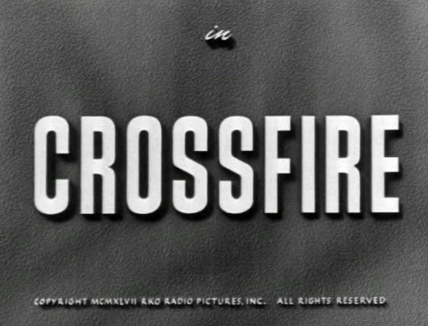 Crossfire title screen
