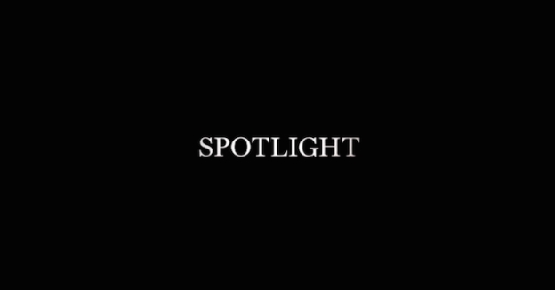 Spotlight title screen
