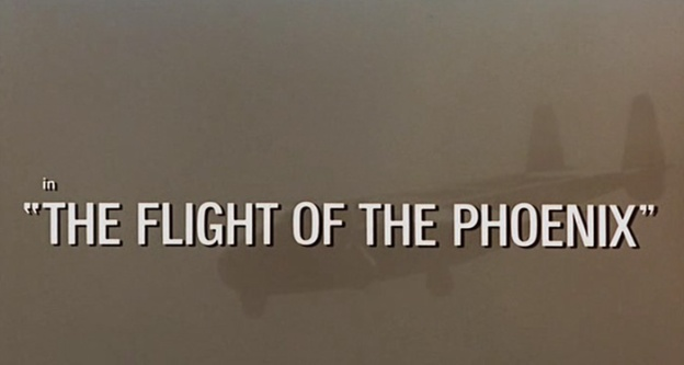 The Flight Of The Phoenix title screen