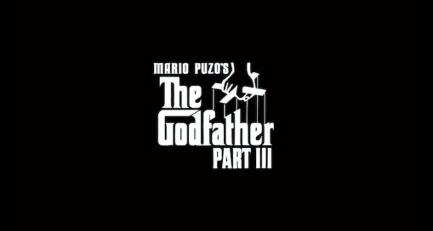 The Godfather Part III title screen