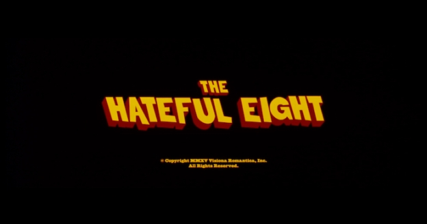 The Hateful Eight title screen