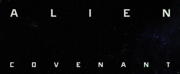 Alien: Covenant title screen