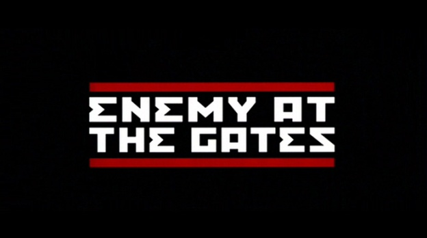 Enemy At The Gates title screen