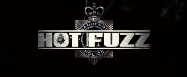 Hot Fuzz title screen
