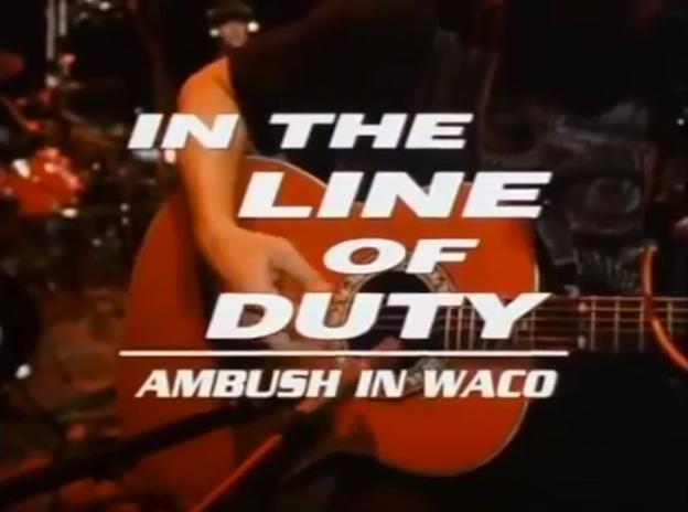 In The Line Of Duty: Ambush In Waco title screen