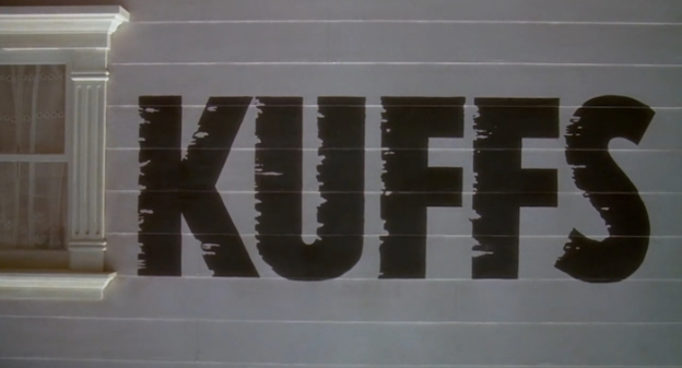 Kuffs title screen