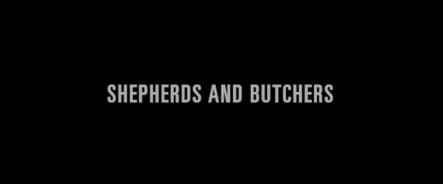 Shepherds And Butchers title screen