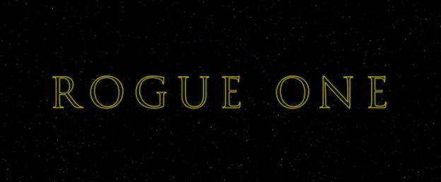 Star Wars: Rogue One title screen