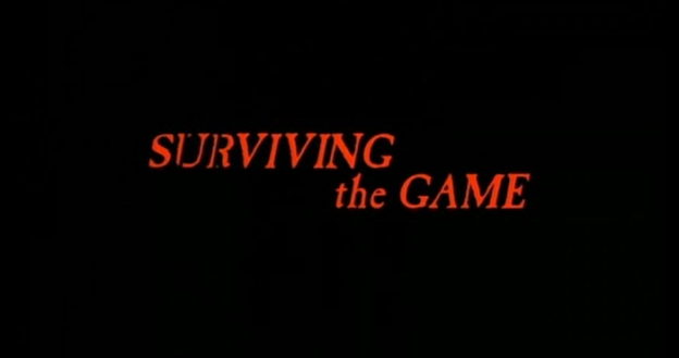 Surviving The Game title screen