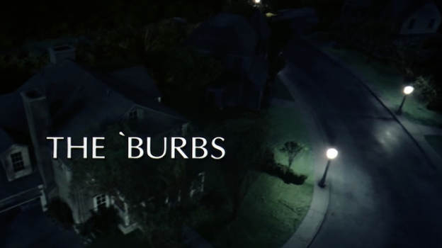 The 'Burbs title screen