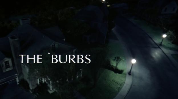 The 'Burbs title screen
