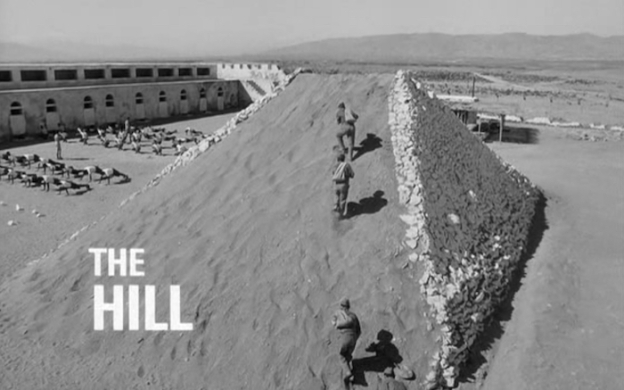 The Hill title screen