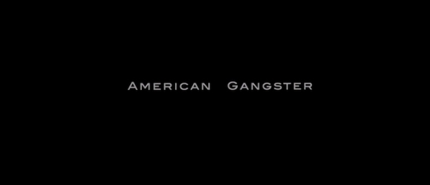 American Gangster title screen