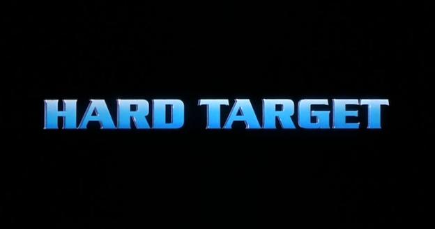 Hard Target title screen