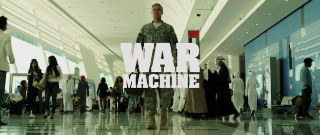 War Machine title screen