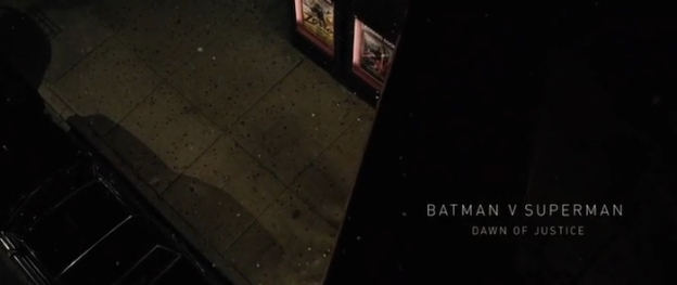 Batman V Superman: Dawn Of Justice title screen