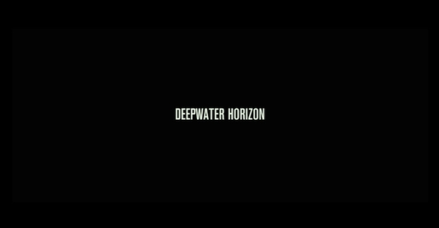 Deepwater Horizon title screen